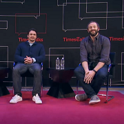 James Franco Chris O'Dowd TimesTalk